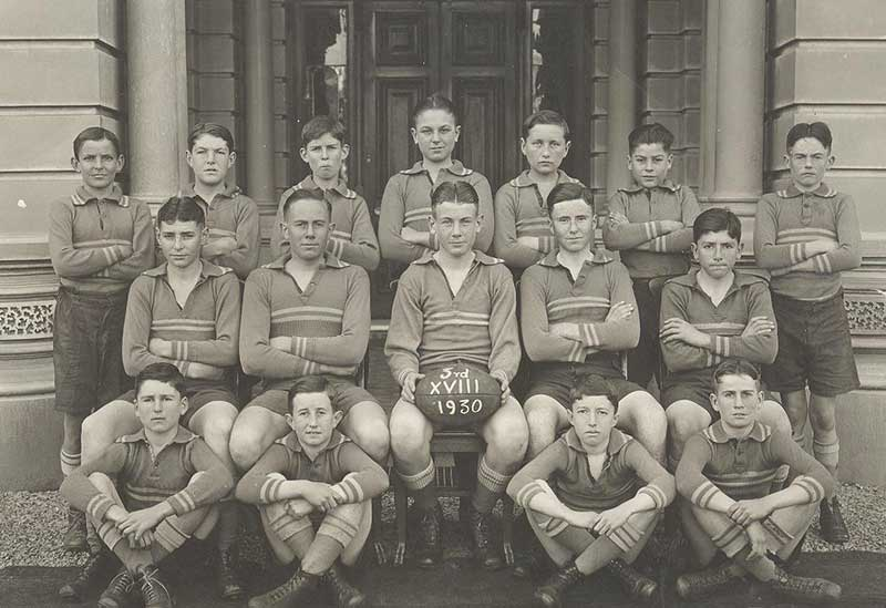 1930 - 3rd Football team, Sacred Heart College Adelaide