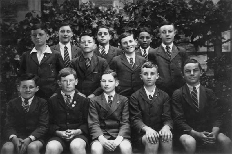 1943 - Students from Christian Brothers College Adelaide