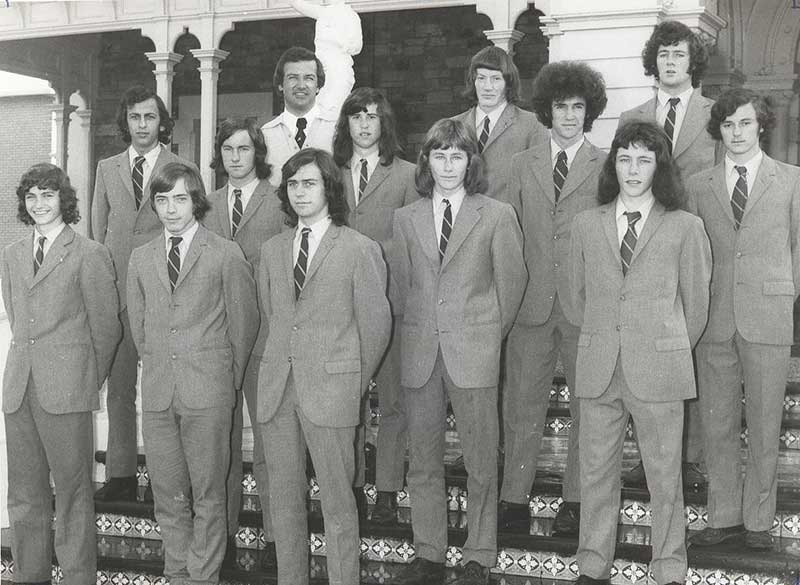 Sacred Heart College 1973