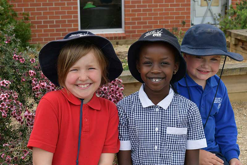 Ballarat Diocese Our Lady Help of Christians Catholic Primary School, Wendouree Students