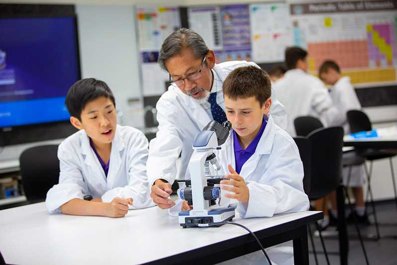 Archdiocese Adelaide Christian Brothers College Science Microscopes