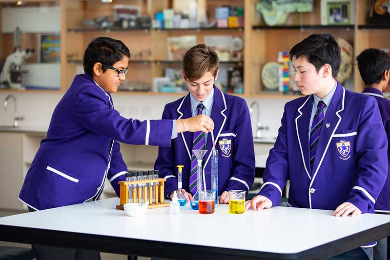 Archdiocese Adelaide Christian Brothers College Science Seniors