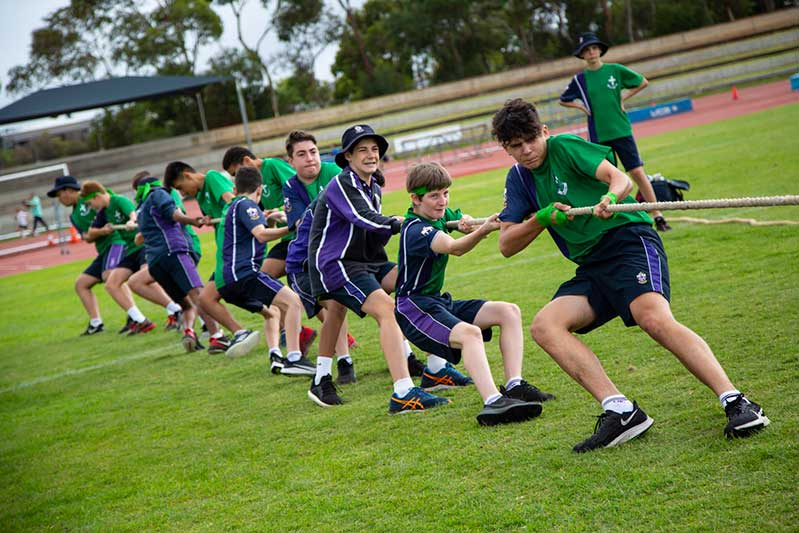Archdiocese Adelaide Christian Brothers College Sports Day