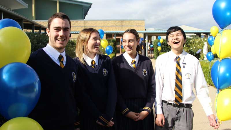 McCarthy Students Tamworth