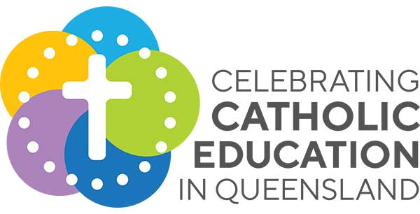 Celebrating Catholic Education in Queensland logo