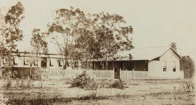 The Convent and St Mary's School circa1908.
