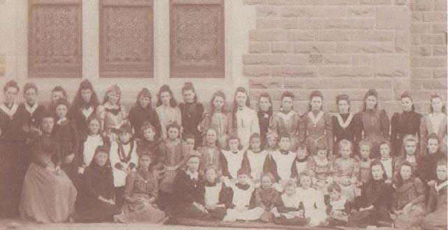 Students at Star of the Sea, Gardenvale around 1890