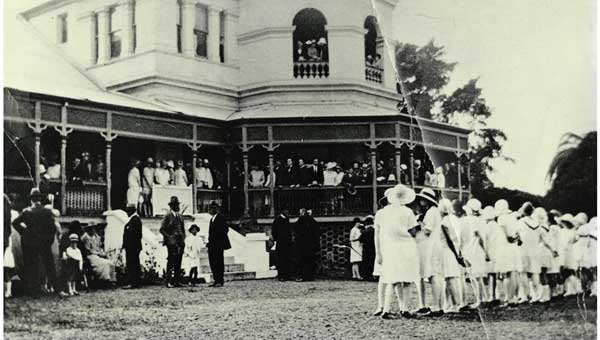 Official Opening of St Rita's College in 1926