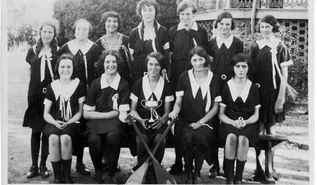 Sports Day at St Rita's College Clayfield in 1929
