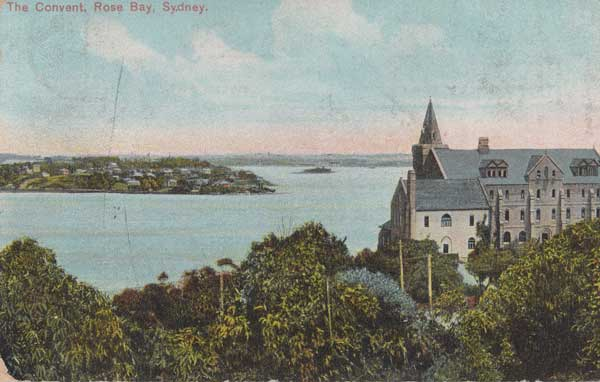 Rose Bay School of the Sacred Heart c1905