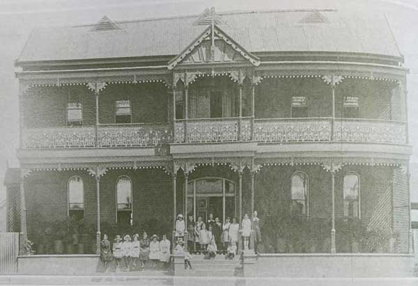 Sisters of Mercy Cobar Convent School NSW in 1884c.