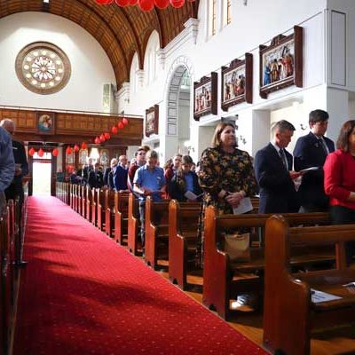 A National Mass was held at acred Heart Cathedral, Diocese of Maitland Newcastle, NSW.
