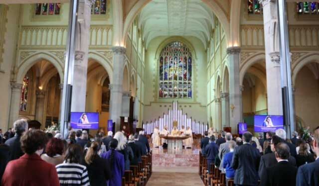 National Mass held at St Mary's Cathedral Perth WA