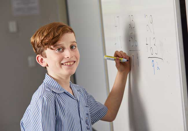 Student at St John's Silkwood, Diocese of Cairns