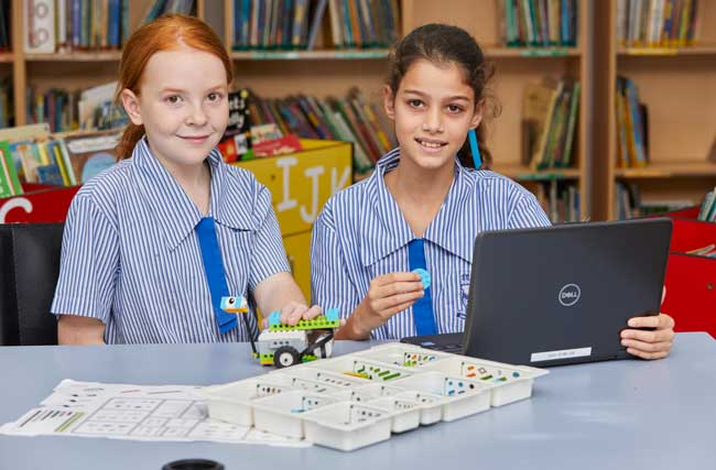 Students at Student at St John's Silkwood, Diocese of Cairns