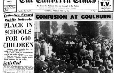 Memories from the past: Goulburn schools strike and the impact on Catholic school funding