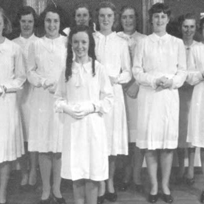 Siena College Camberwell first class, 1940.